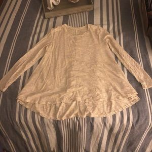 Old navy ivory tunic